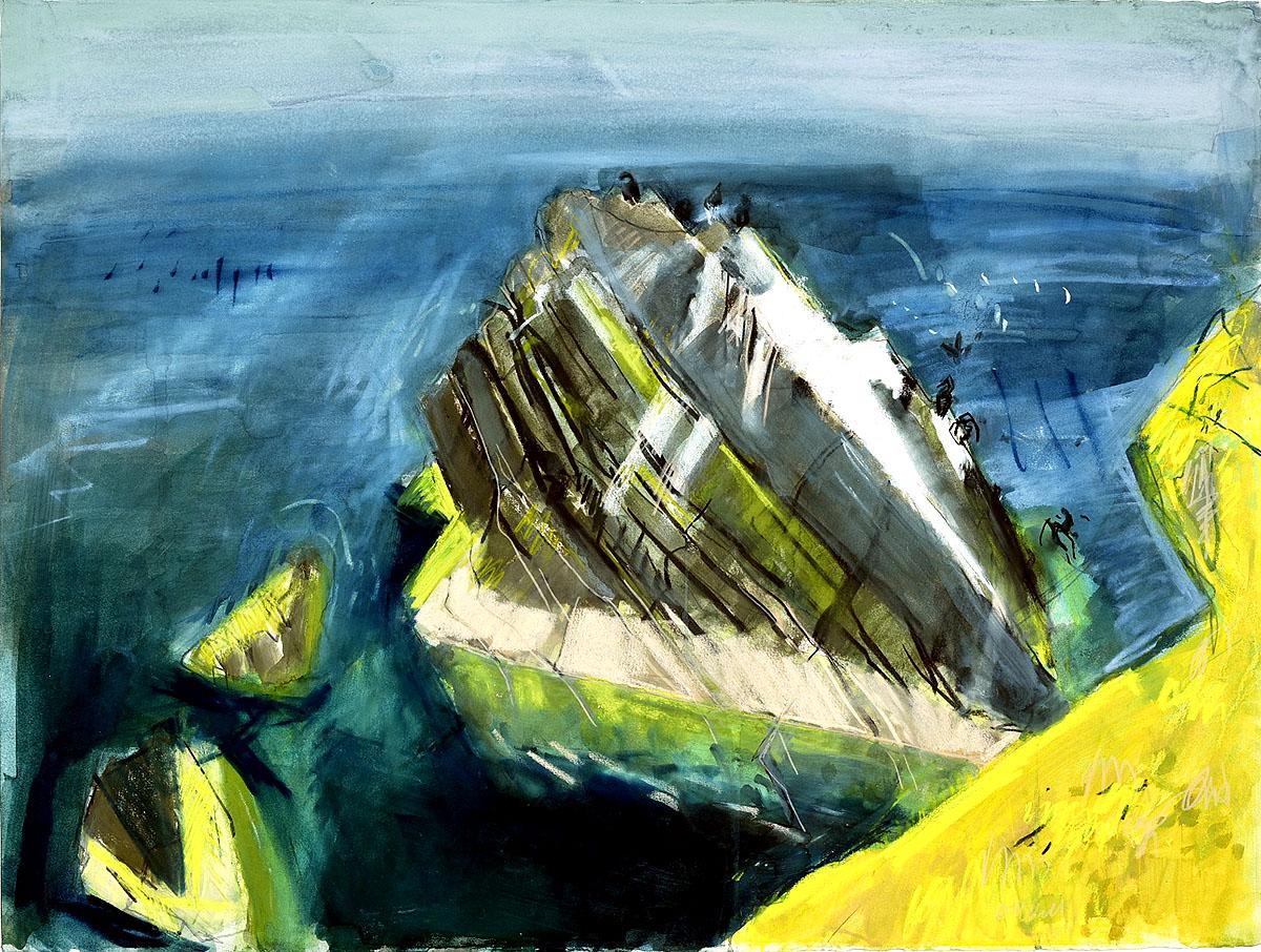 Kittie Jones, 'Pyramid Stack,late summer'