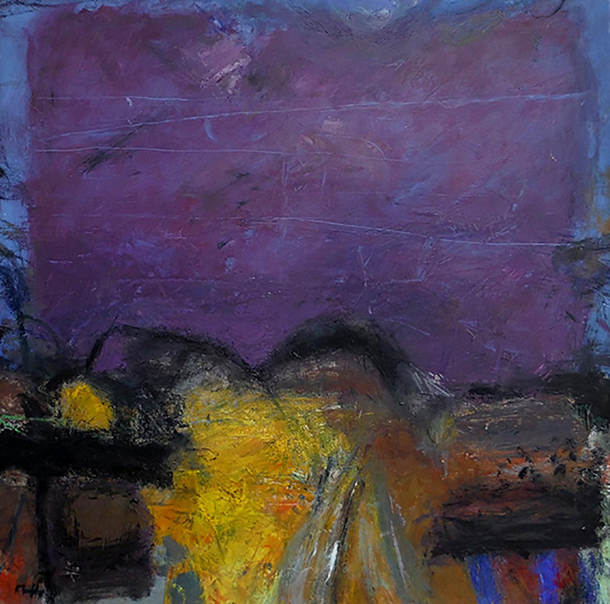 Sandy Murphy, Foothills', oil on linen
