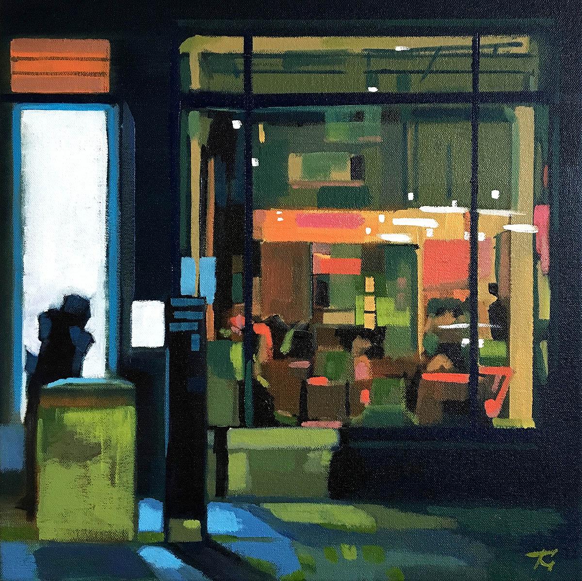 Tony Griffin, 'Mitchel Street', acrylic