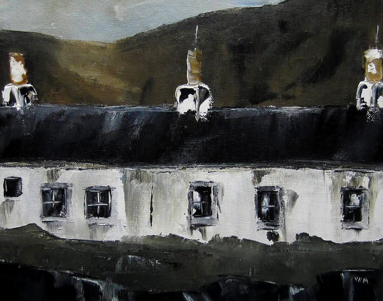 Victoria Maxwell Macdonald, 'Cottages, September', oil