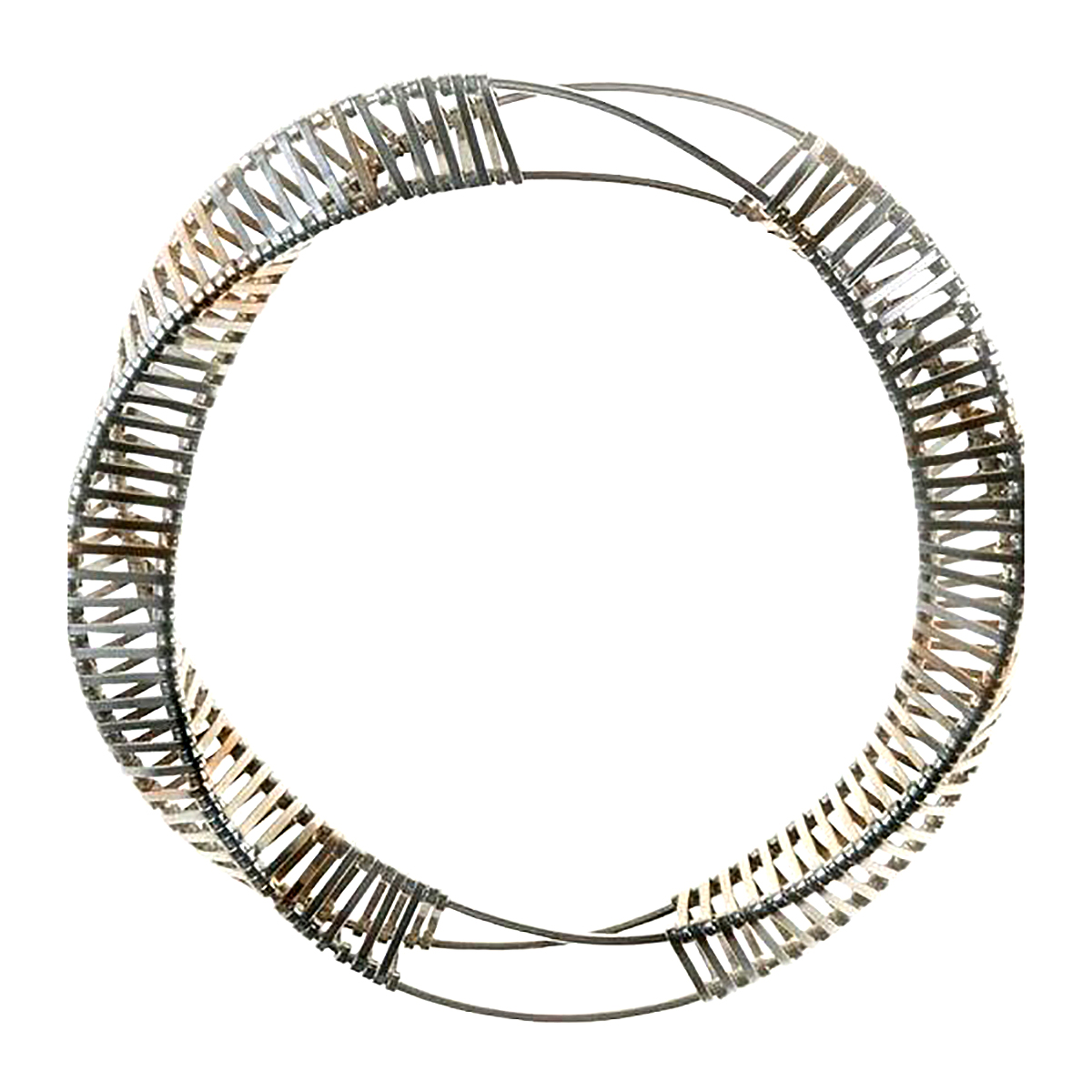 Zoë Mion, 'Biotecture', recycled eco-silver, gold