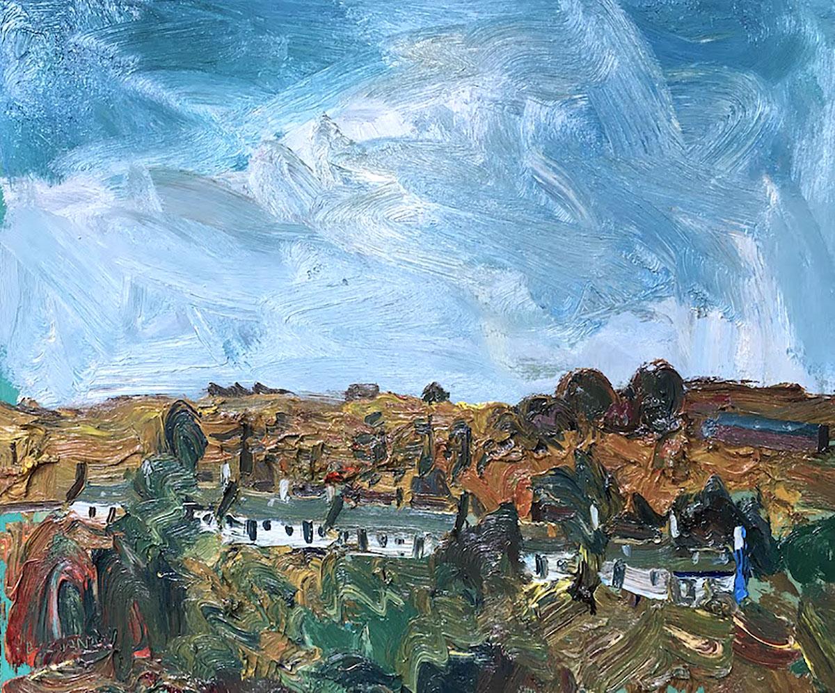 Stuart Buchanan, 'South Row, September'