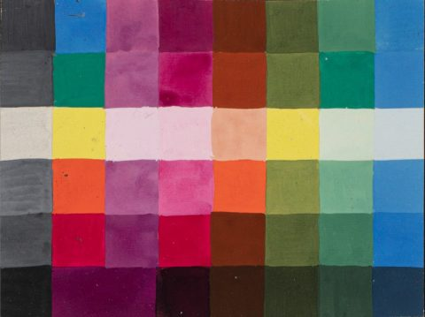 Gertrud Arndt (attr), 'Study on colour at Bauhaus Weimar', probably circa 1924