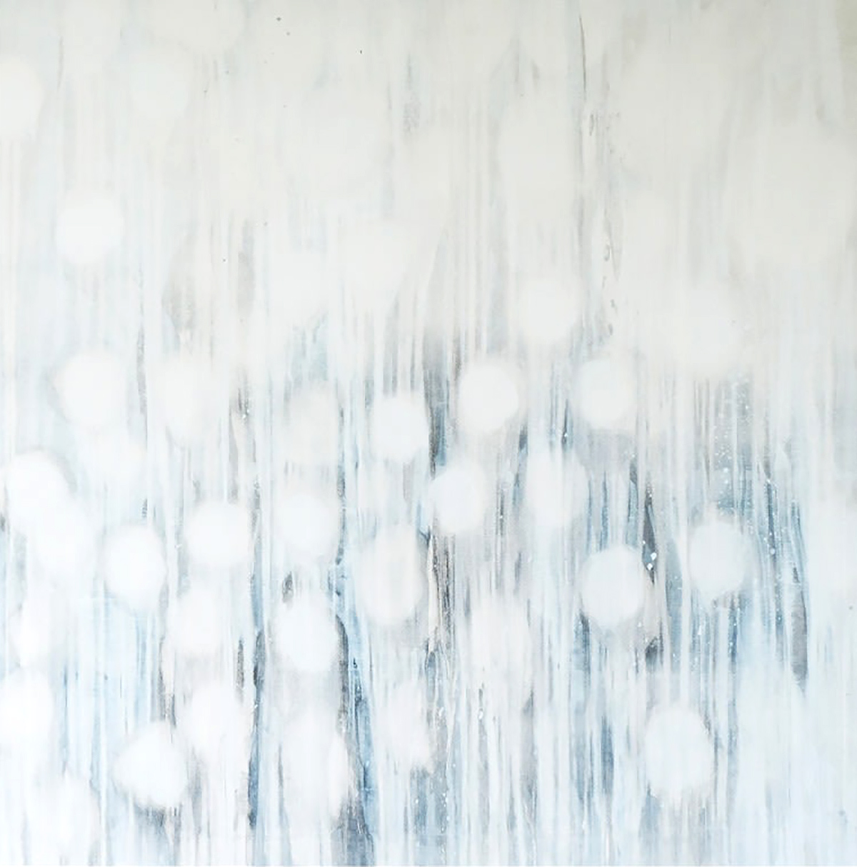 Helen Booth, 'Falling Water', oil on canvas
