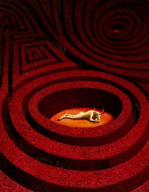 Helen Flockhart, 'Labyrinth', oil on linen