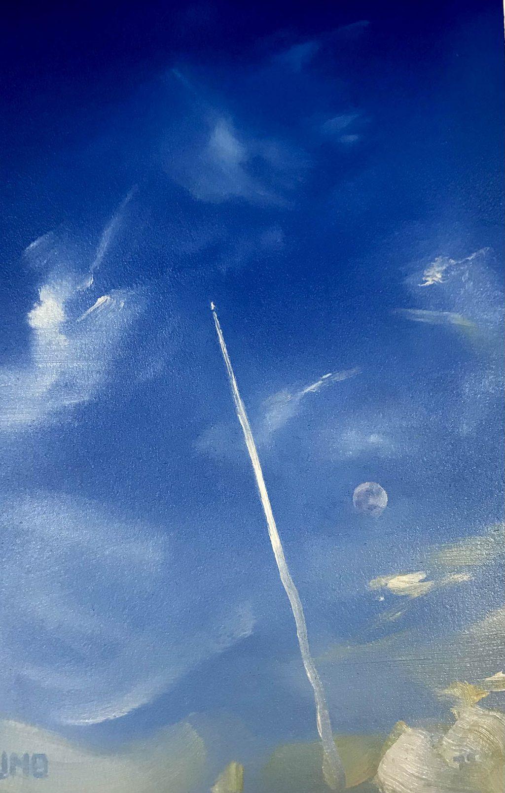 Jason Michael Bentley, 'Moon Study IV'
