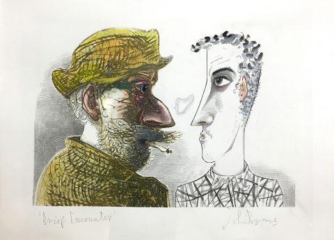 John Byrne, 'Brief Encounter', monotype.jpg