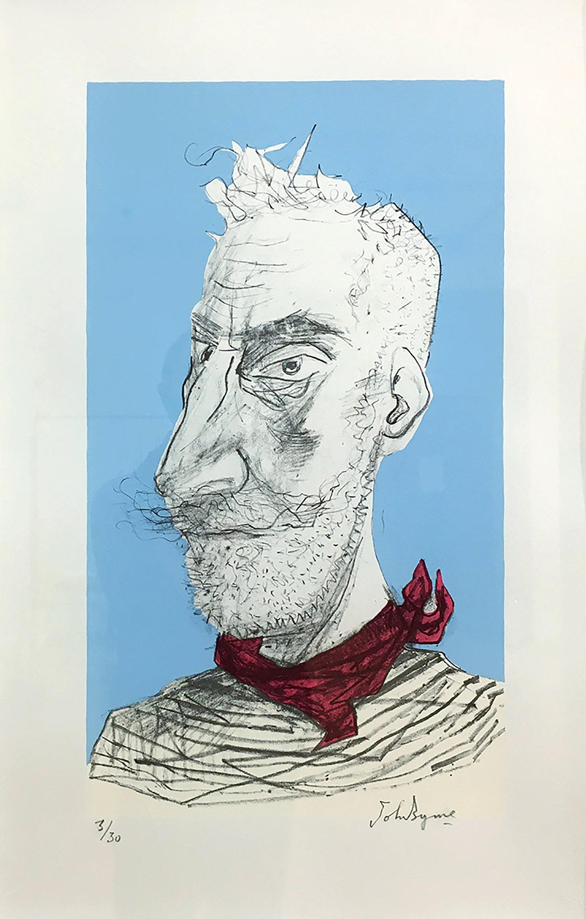 John Byrne, 'Red 'Kerchief', screenprint.jpg