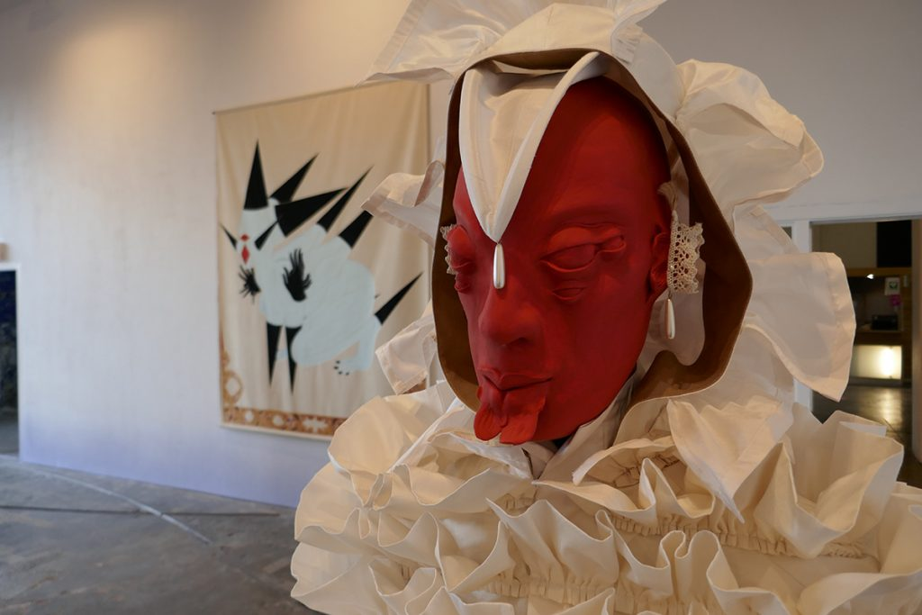 Rajni Perera, 'Bust 2 Traveller 8', mixed media