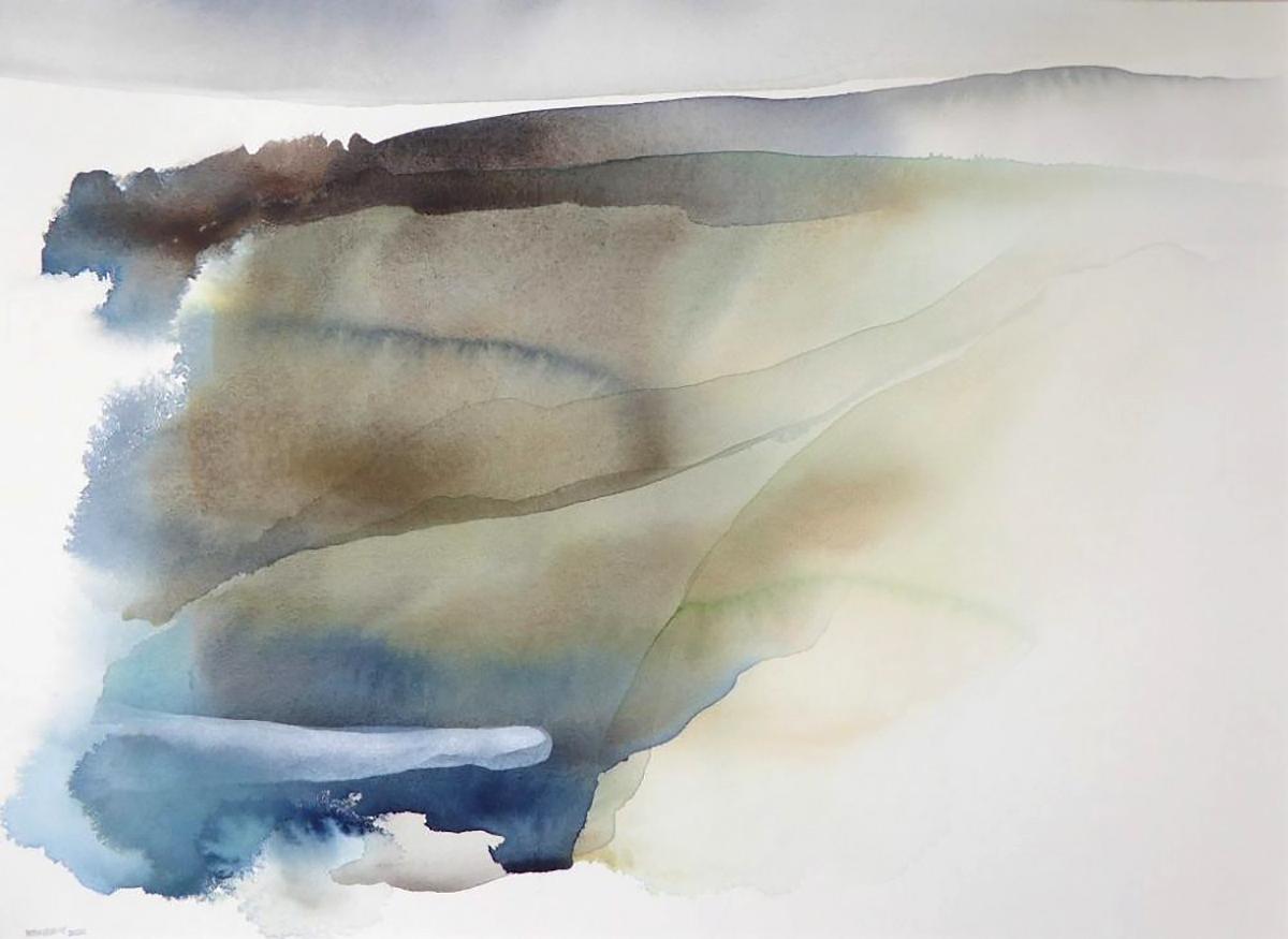 Peter Davis, 'Shoostran', watercolour on paper