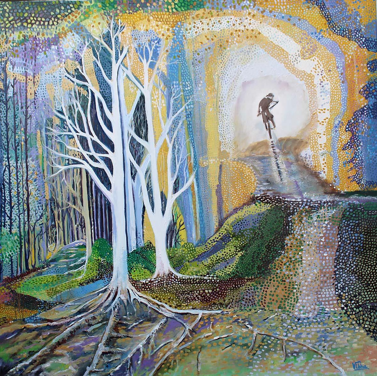 Vibha Pankaj, 'Boundless Bounty', oil on canvas