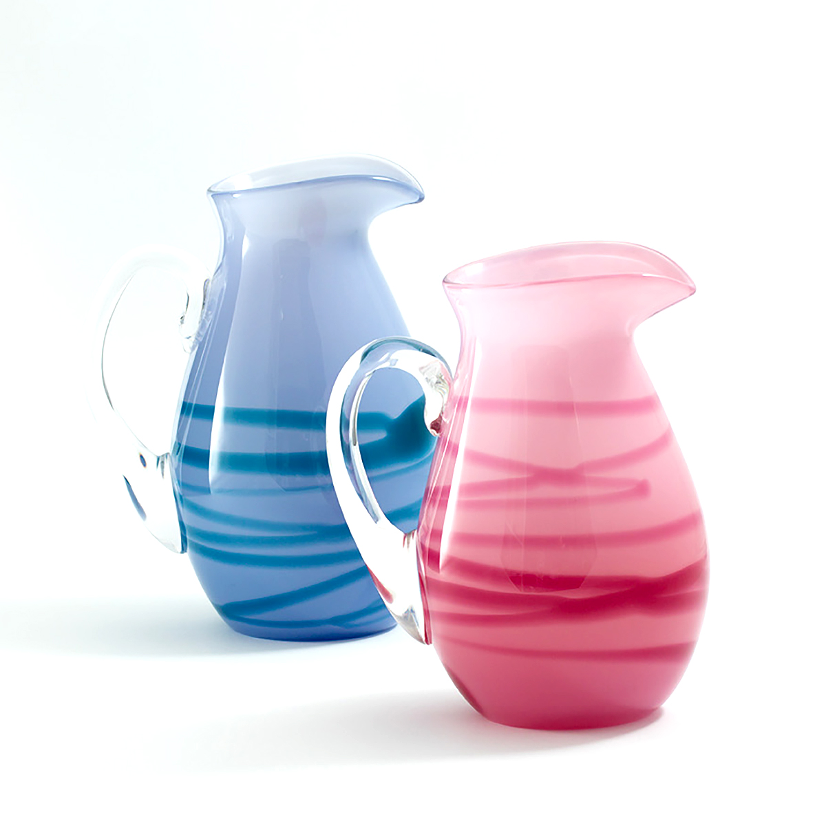 Meg McGregor, 'Swirl Jugs', glass