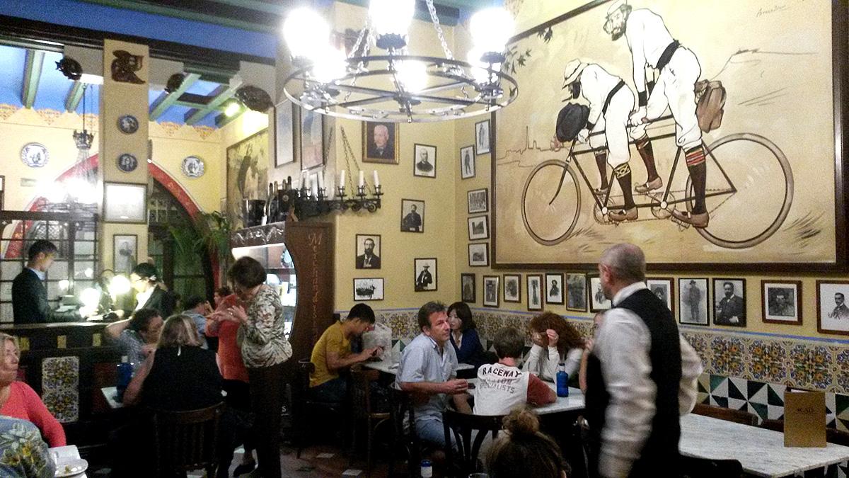 The 4Gats restaurant