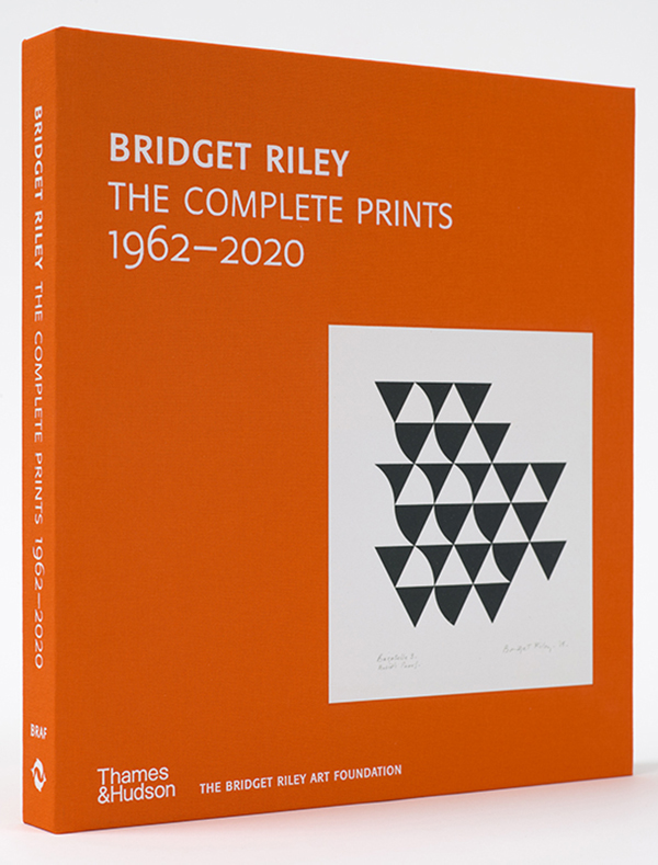 Cover, Bridget Riley, The Complete Prints