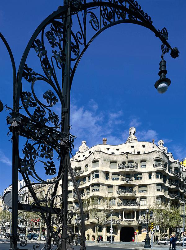 Casa Mila, better known as known as La Pedrera