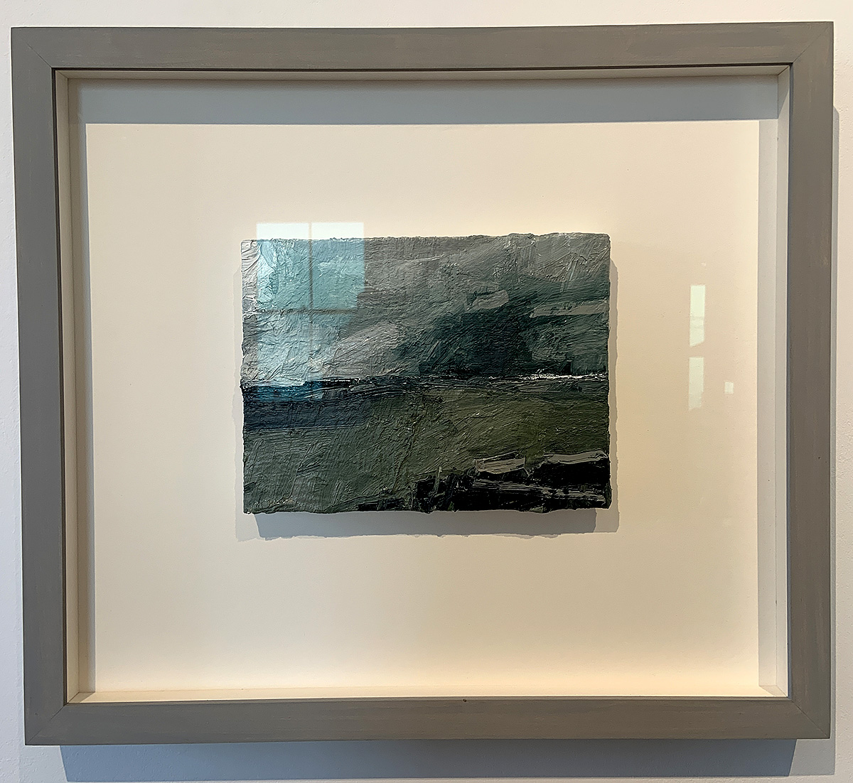 Dominique Cameron, 'Fife Ness - Sea', oil on wood
