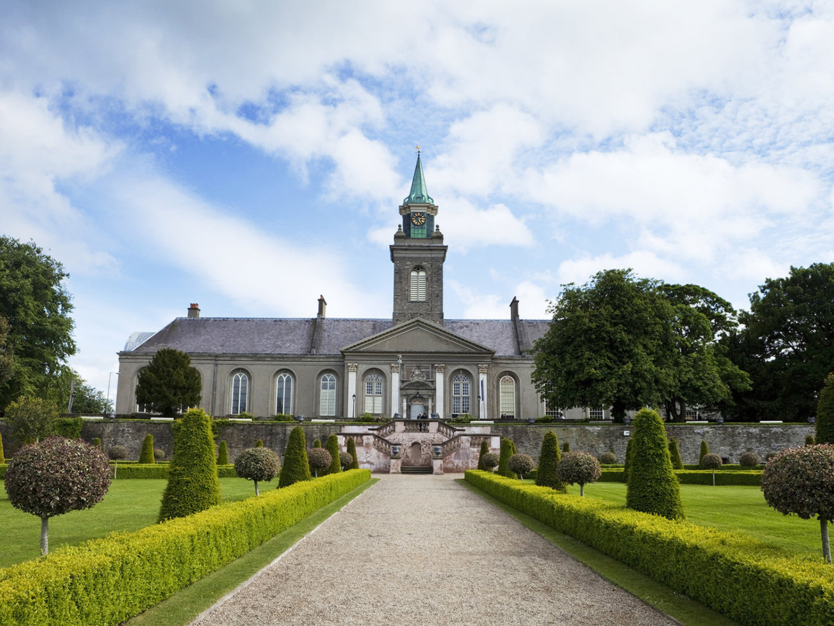 The Irish Museum of Modern Art in the 17th century Royal Hospital building