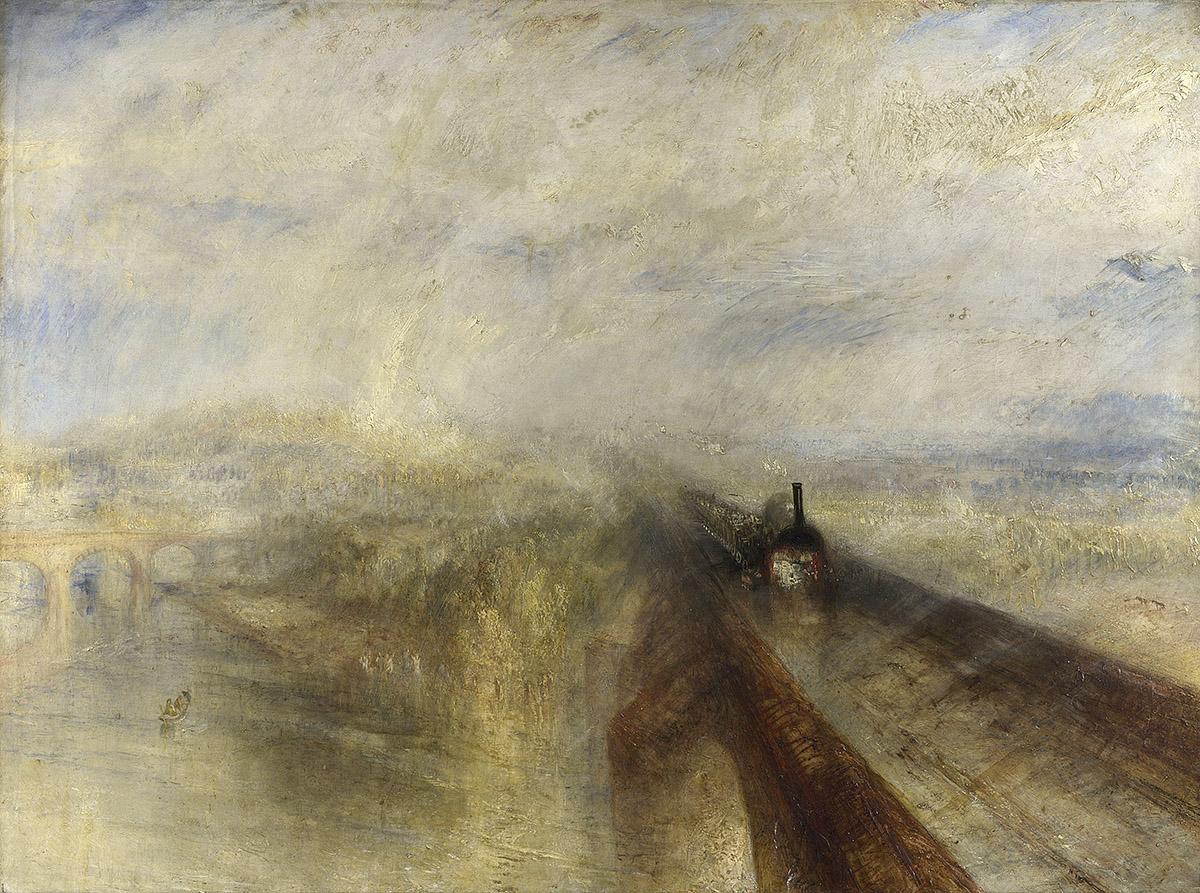 .M.W. Turner, Rain, Steam and Speed - the Great Western Railway (Tate Britain)