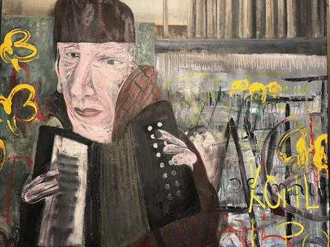 Jock McFadyen Goes To The Pictures exhibition