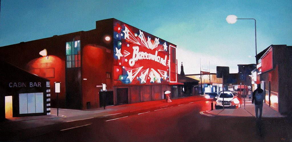 Lee Robertson, 'Barrowlands', oil on canvas