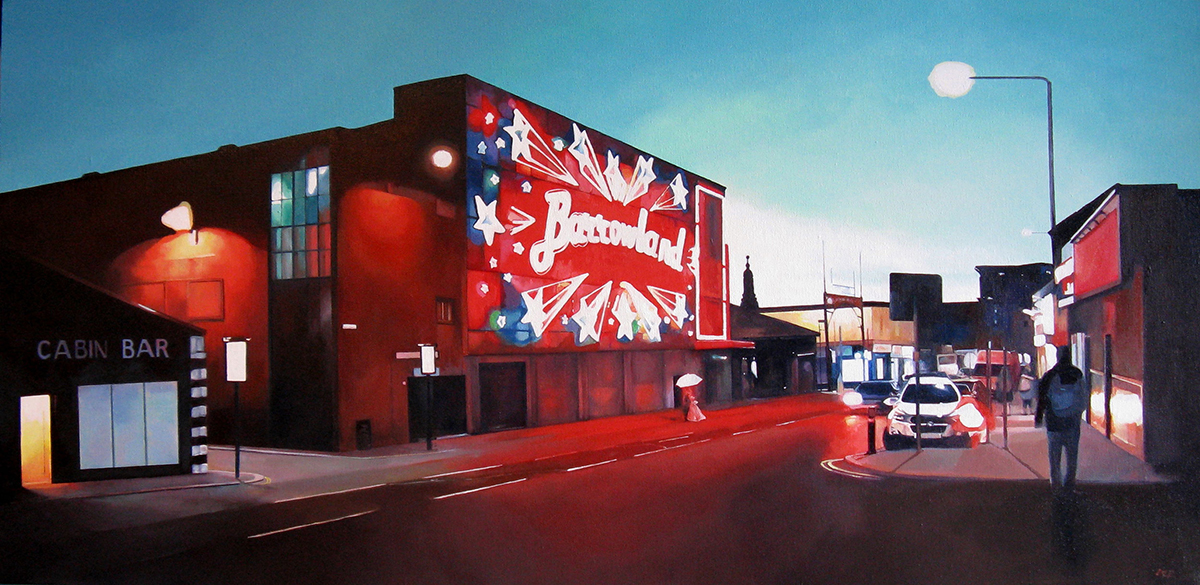 Lee Robertson, 'Barrowlands', oil on canvas