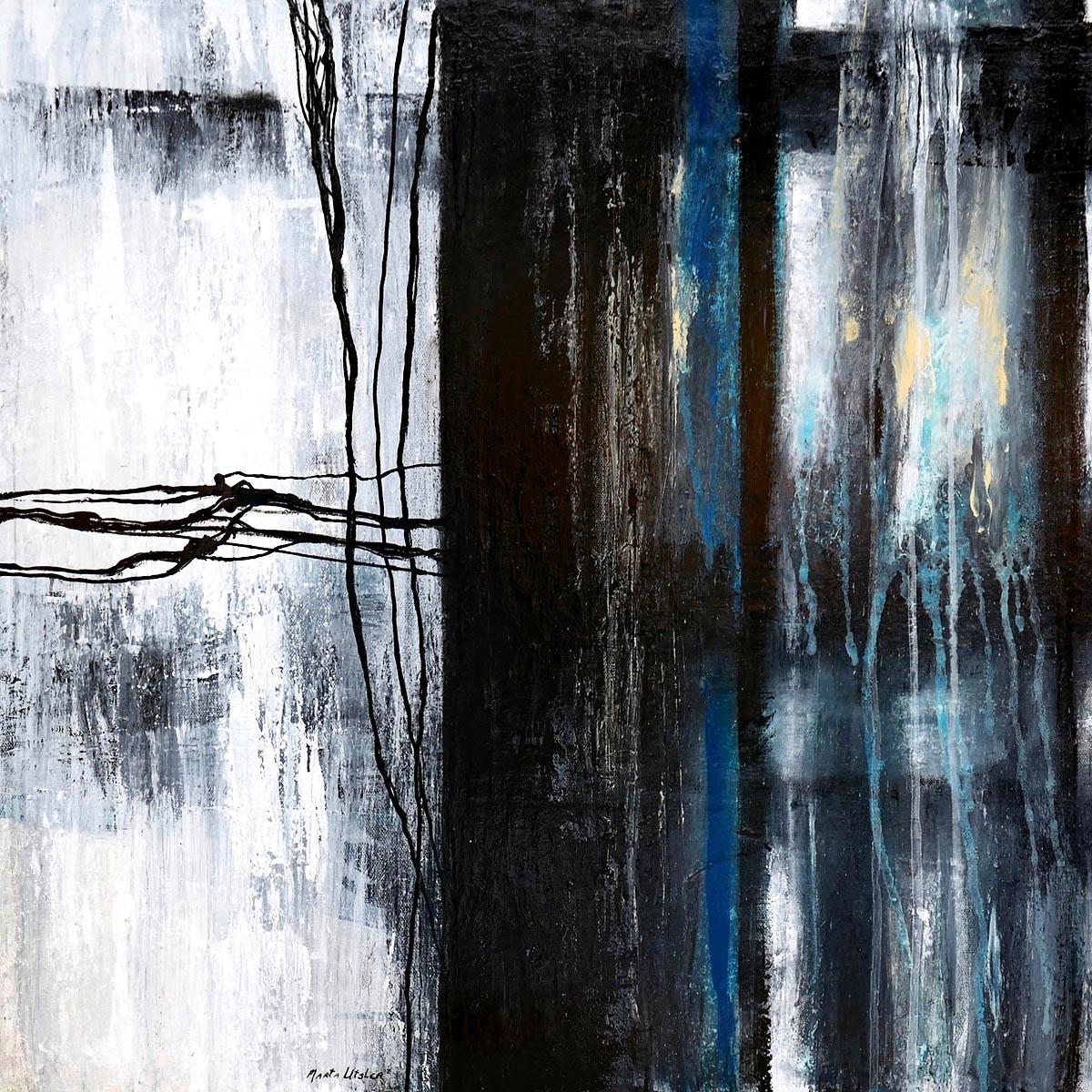 Marta Utsler, 'Dual Narratives Part 1', acrylic on canvas