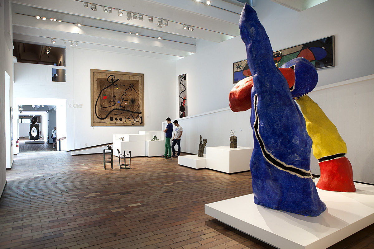 Fundació Joan Miró © Fundació Joan Miró, Barcelona. Photo: Pere Pratdesaba