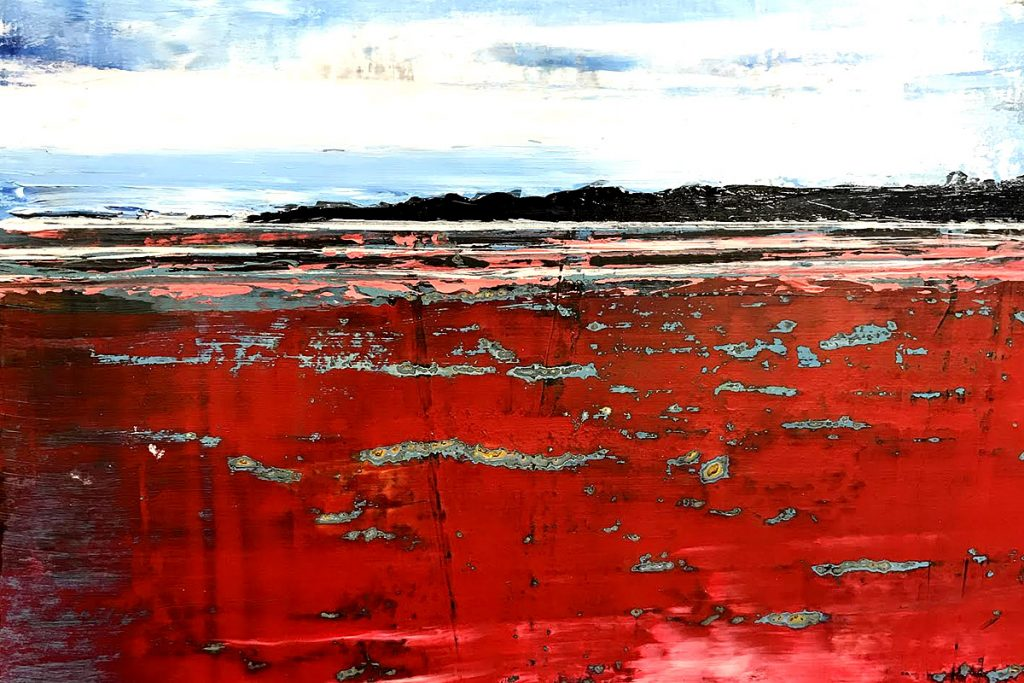 Alan Richmond, 'Sand Reflections', acrylic