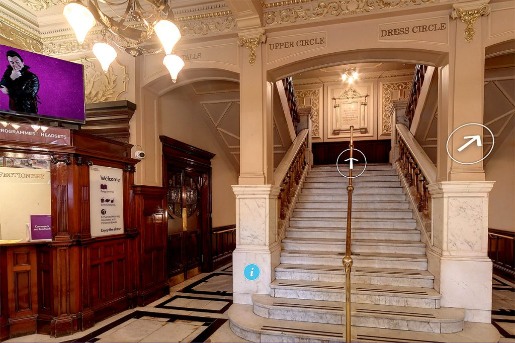 Screenshot of The King's Theatre Edinburgh 360deg Tour