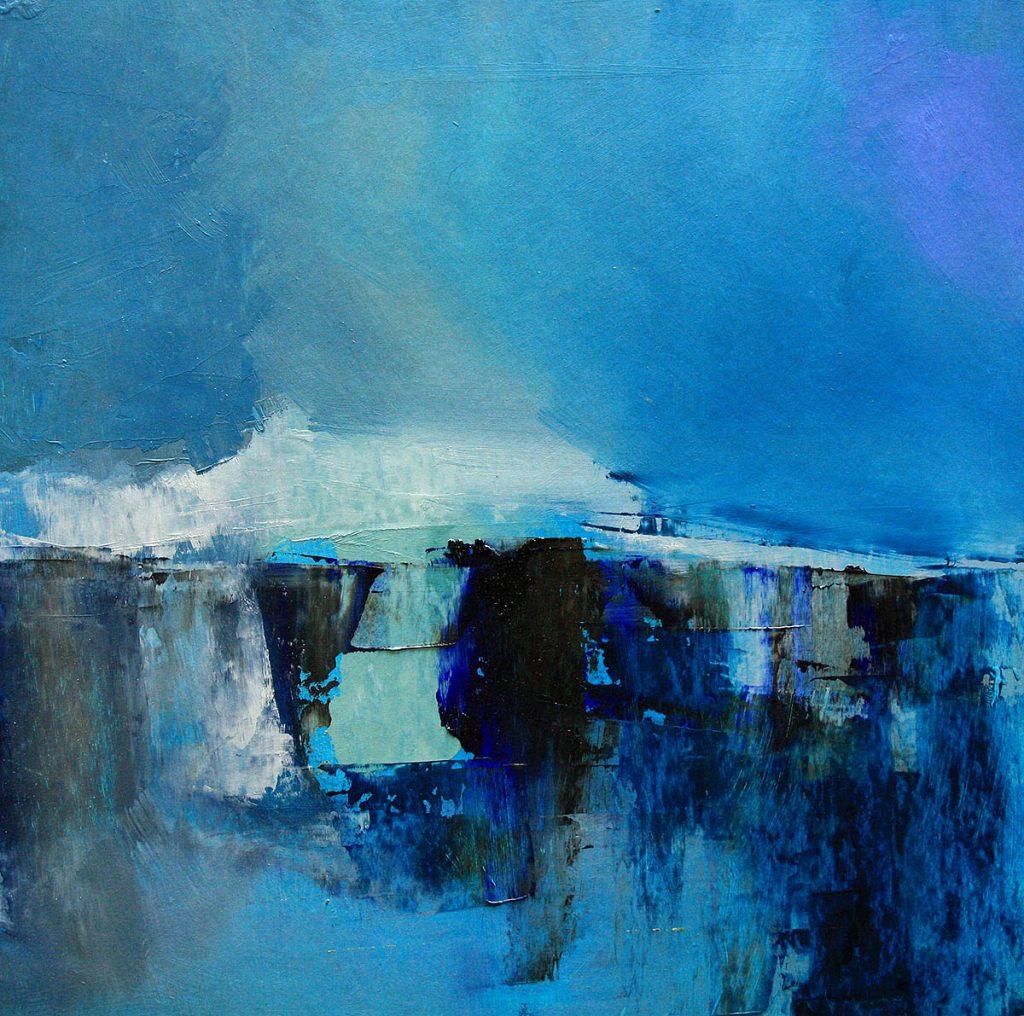 Siobhan O'Hehir, 'Pen Hir 4', oil on paper