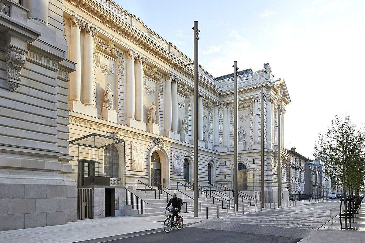 The Musee d'Arts de Nantes