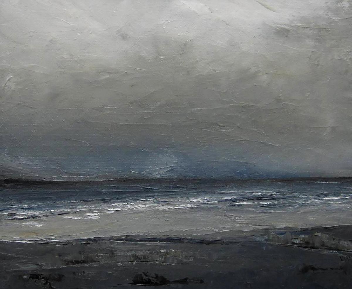 Victoria Maxwell Macdonald, 'Kintyre Coast', oil
