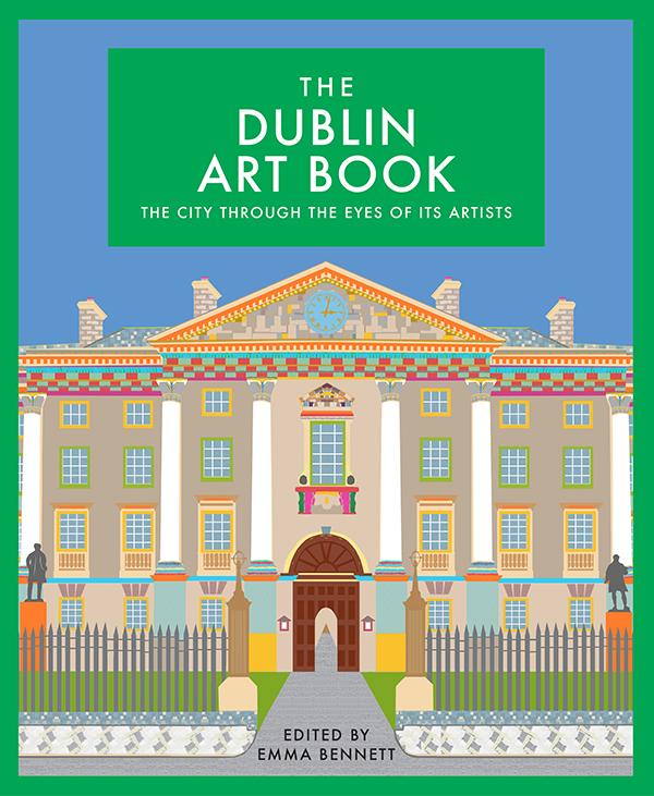 Cover, The Dublin Art Book, Ed. Emma Bennett