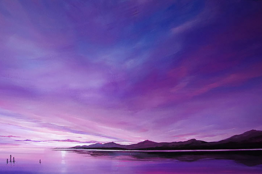 Allison Young, 'Loch Ness', oil on canvas