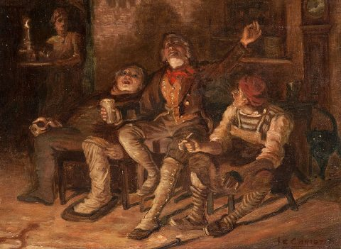 James Elder Christie, 'Tam O'Shanter', Paisley Art Institute Collection held by Paisley Museum, Renfrewshire Leisure