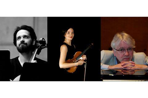 Brunton Theatre's Magic of Mendelssohn: Balazs Renczes (cello), Abigail Young (violin) and Graeme McNaught (piano)