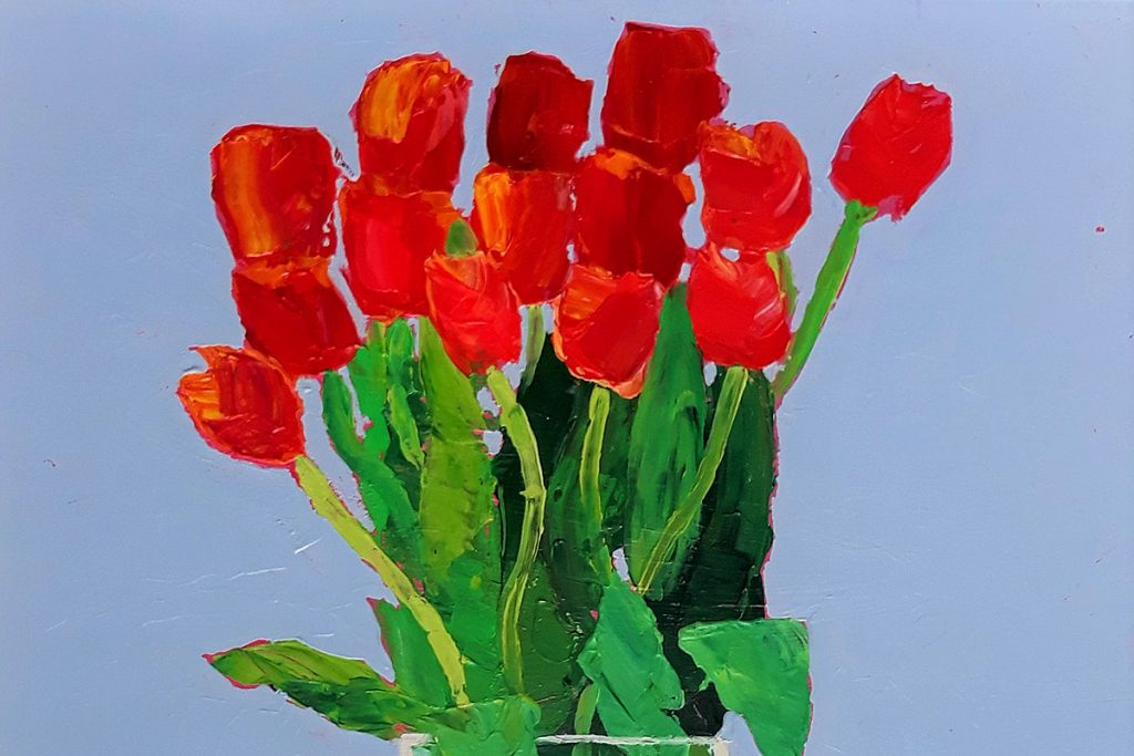 Fiona Sturrock, 'Orange Tulips'