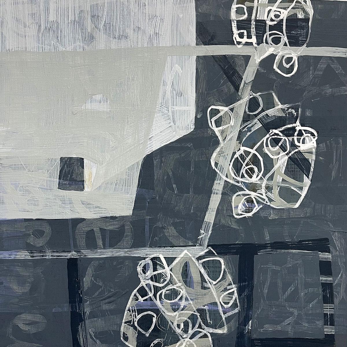 Joan Doerr, 'Fancy of Fancy', acrylic on board
