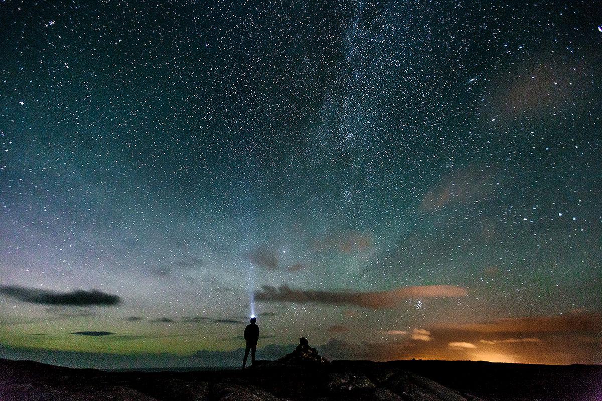 Grant Anderson, '100 Thousand Million Star Hostel (Gearrannan, Isle of Lewis)', photograph
