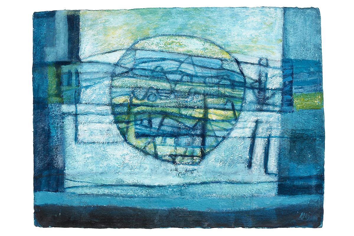 Marj Bond, 'Ice Field, Fife'