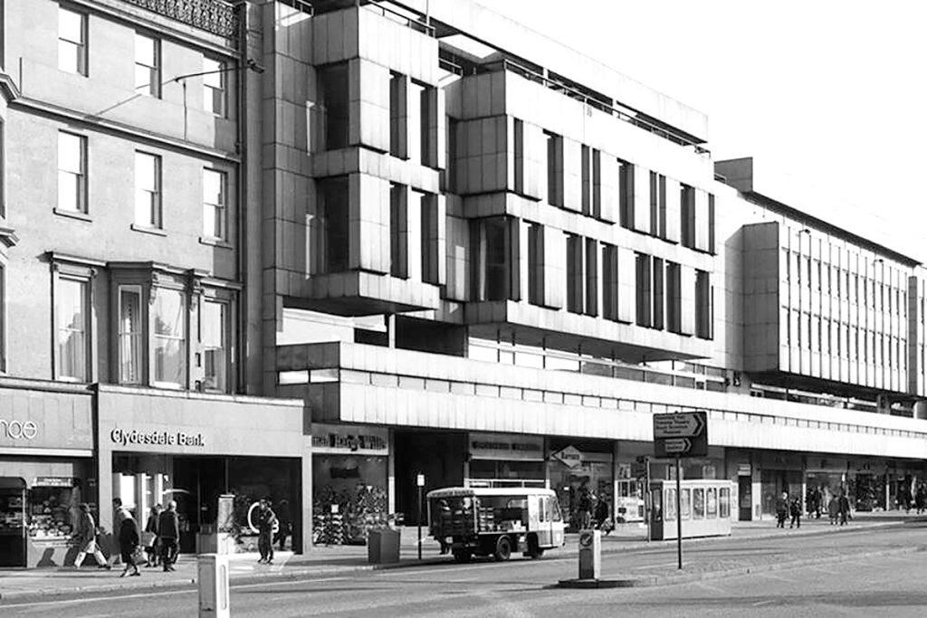 New Club, 85 Princes Street, Edinburgh, c.1980. Image Historic Environment Scotland