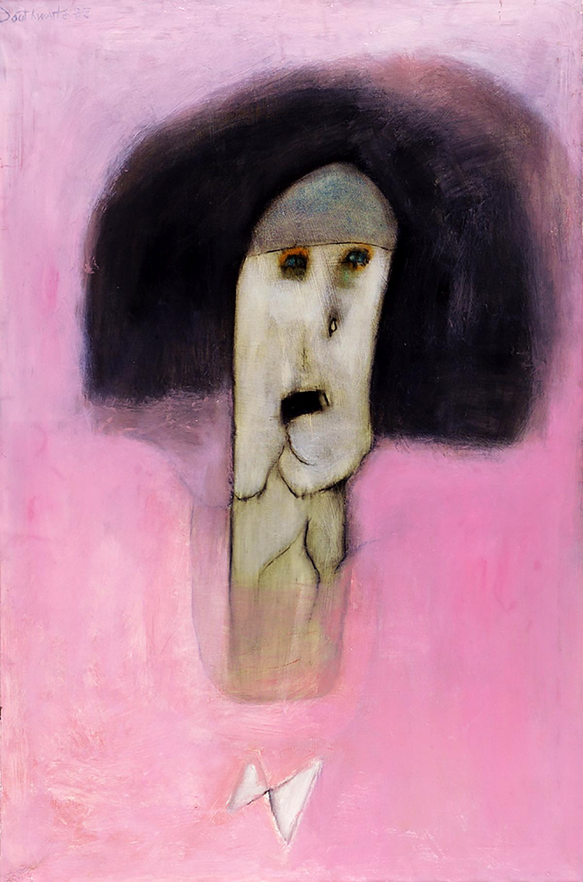 Pat Douthwaite, 'Madeline', oil on canvas