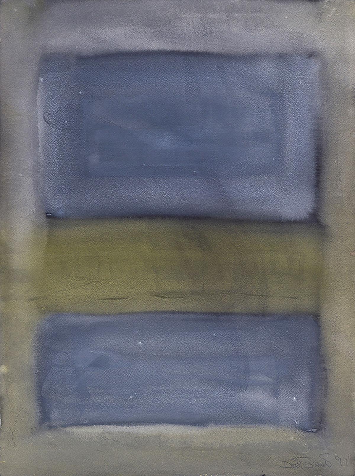 Pat Douthwaite, 'Orcadian Landscape', watercolour