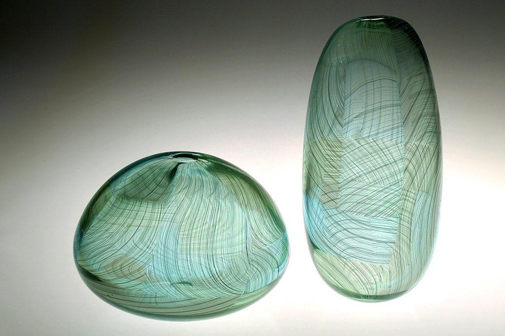 Scott Benefield, 'Antrim Fields', blown glass