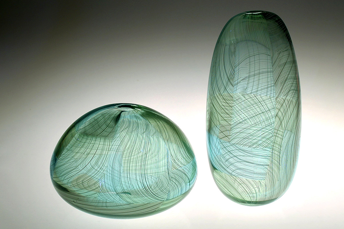 Scott Benefield, 'Antrim Fields', blown glass