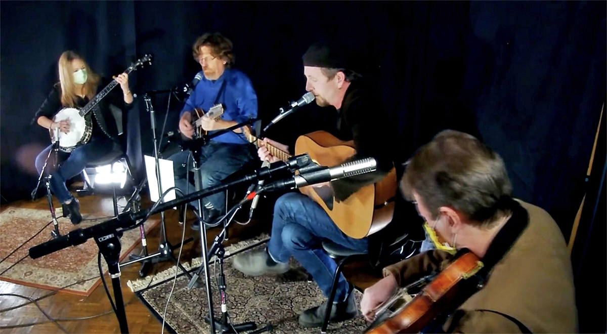 Celtic Connections, Transatlantic Sessions: Nashville band, Compass Records Studio