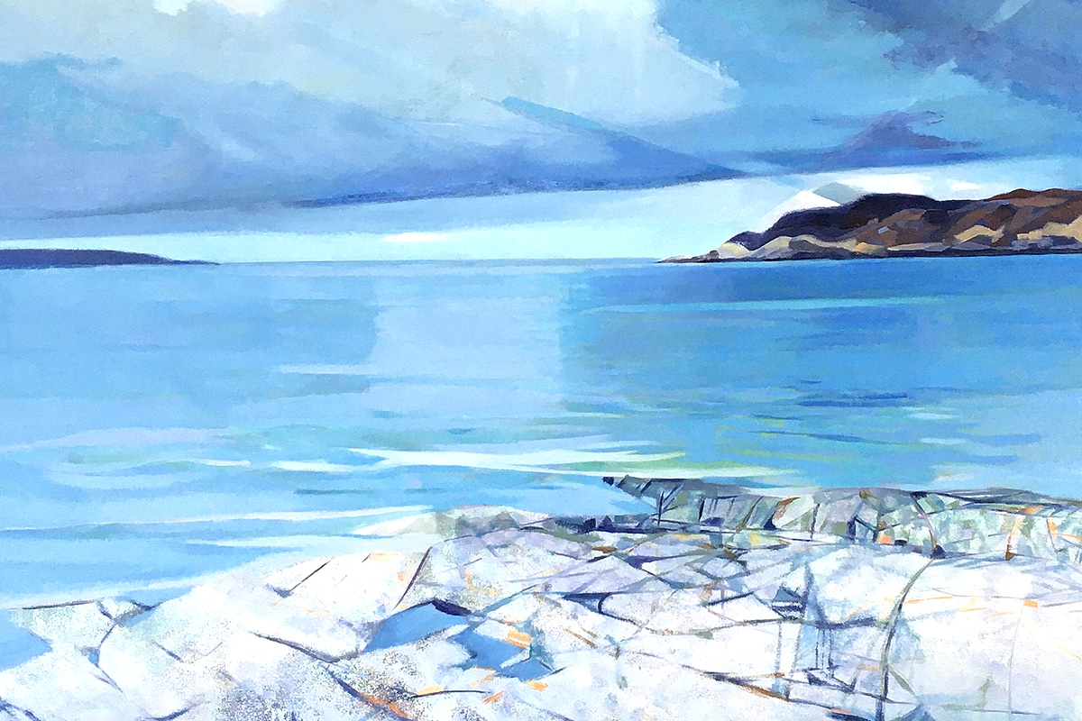 Ann Armstrong, 'Arisaig', oil on canvas