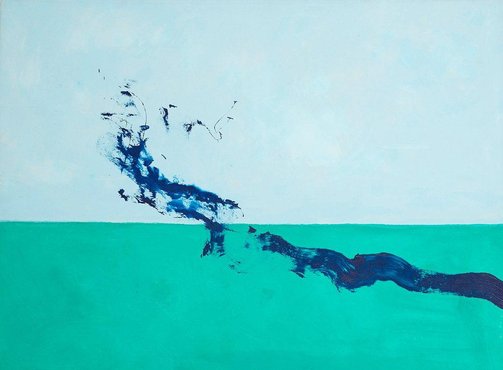 Cleve Gray, 'Reach #2', acrylic on canvas