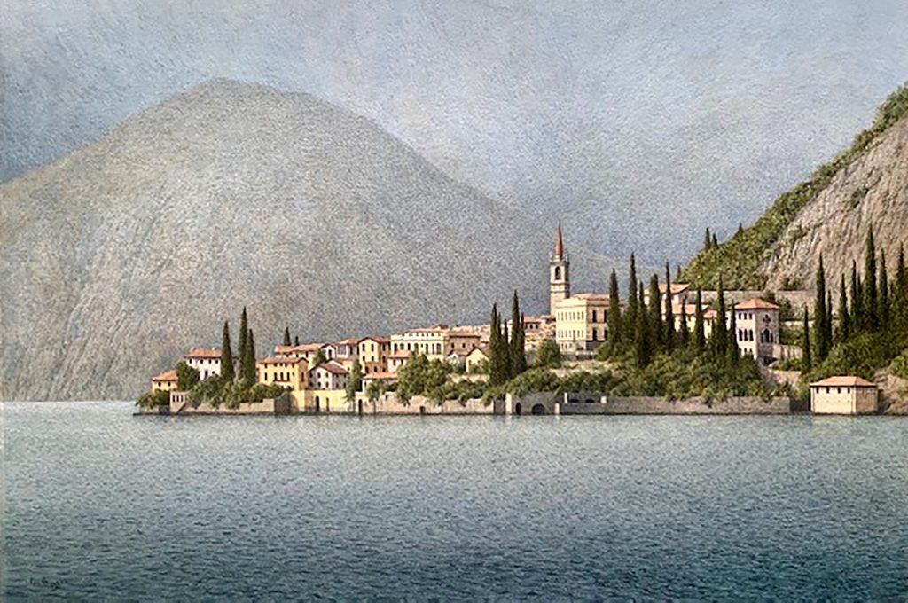 Ken Ferguson, 'Varenna, Lake Como', watercolour