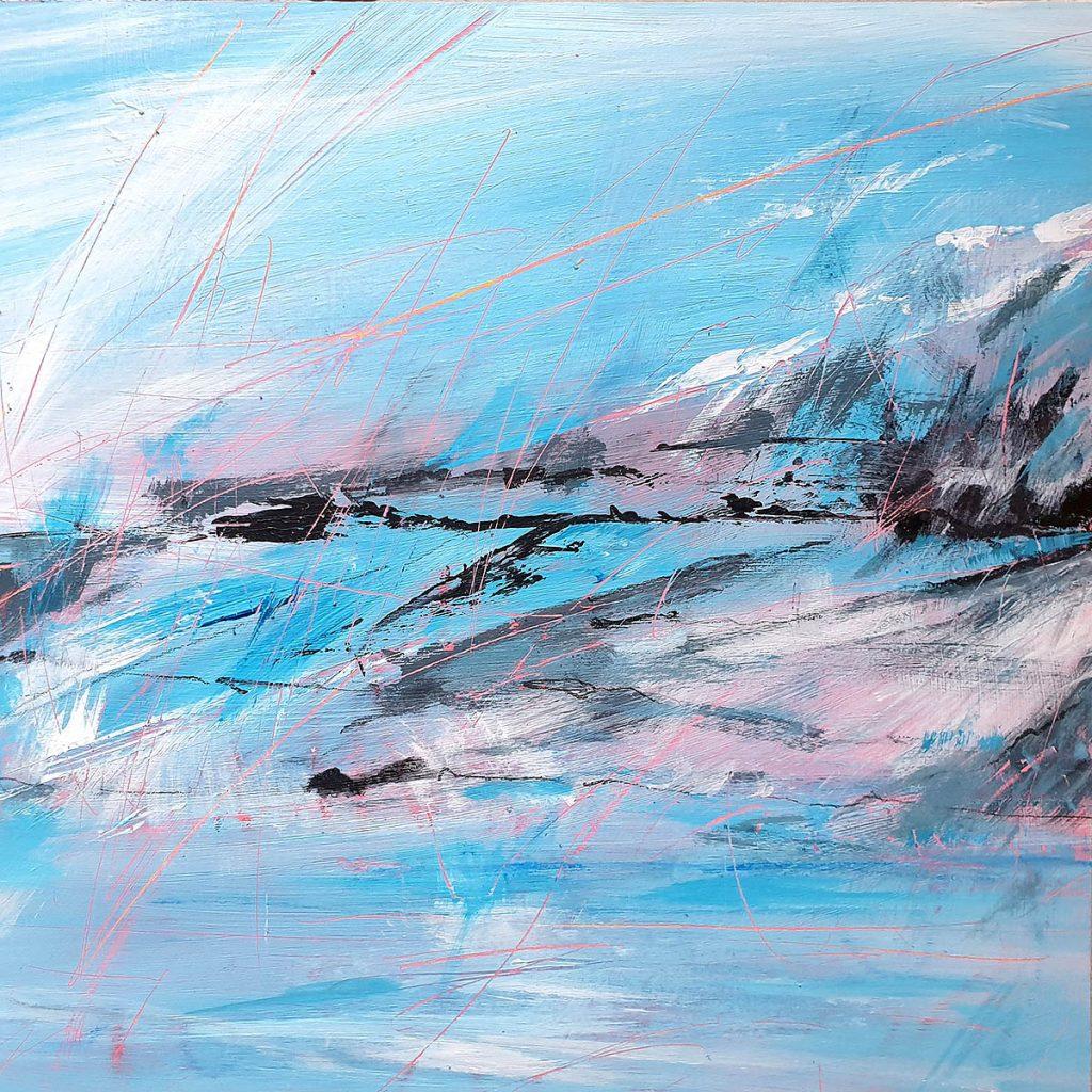 Penny Wemyss, 'Winter morning, Ullapool'